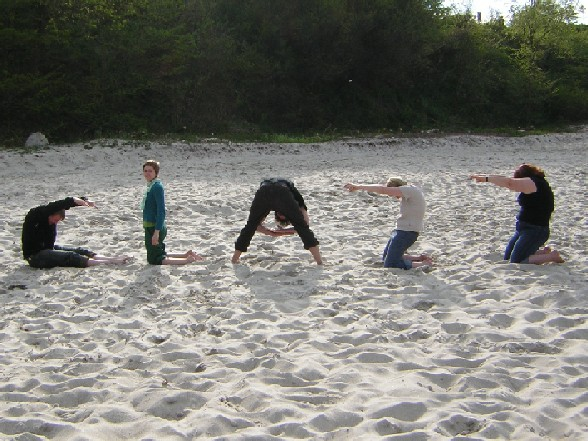 2005 clazz am Strand