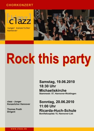 Plakat Rock this party